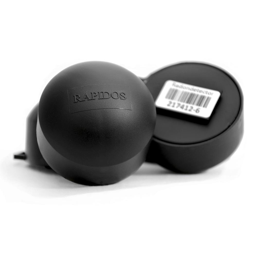 dwa pasywne detektory radonu typu rapidos