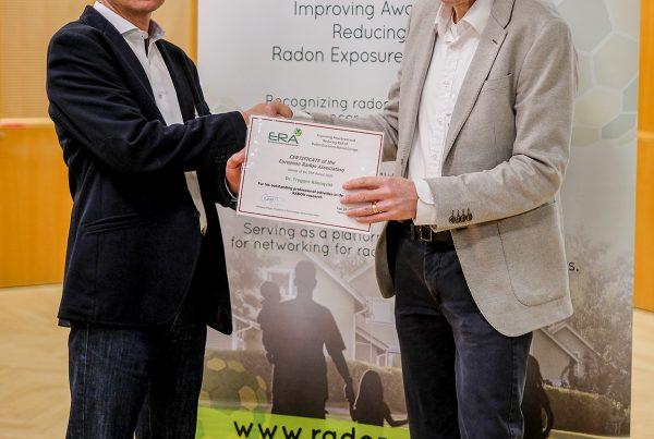 Tryggve Rönnqvist z Radonova uhonorowany przez ERA
