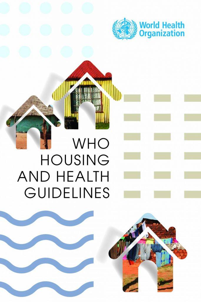 raport WHO, okładka raportu WHO, WHO housing and health guidelines