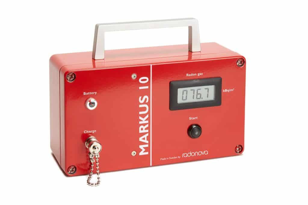 MARKUS 10 urządzenie do pomiaru radonu w  powietrzu glebowym